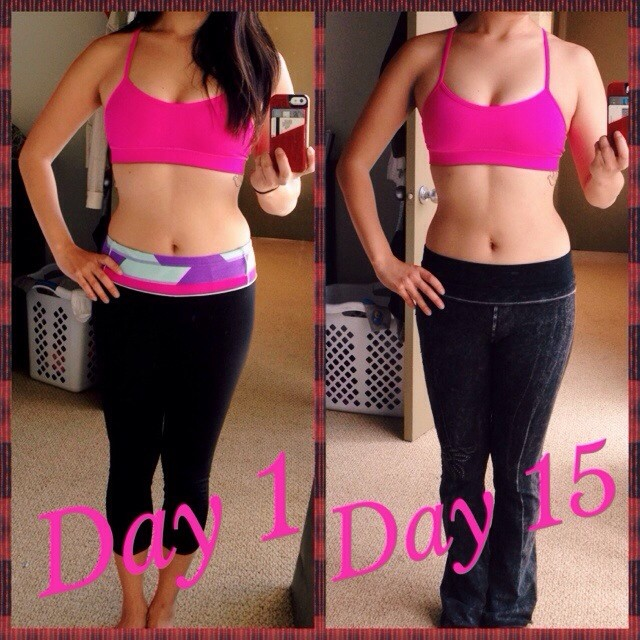 Day 15 progress photo of 30 Day Challenge from Daily Hiit