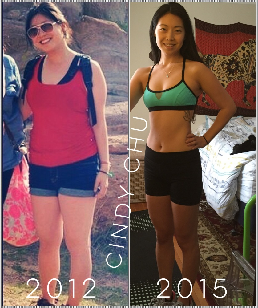 Before I learned about nutritional eating and now, with healthy diet and exercise regimen